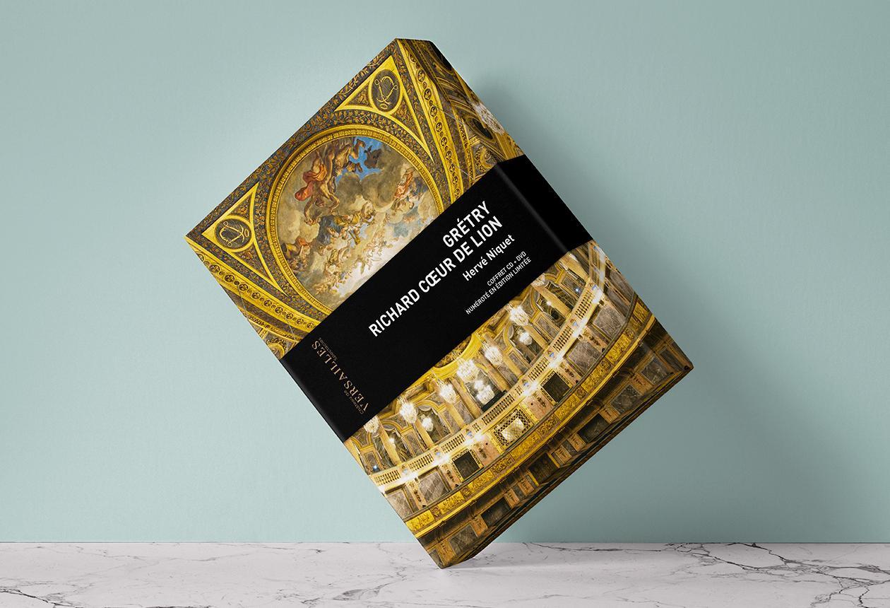 Richard Cœur de Lion | Coffret CD +DVD numéroté en Edition Limitée